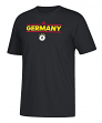 "German National Team Adidas Soccer ""Dassler Local"" Men's Short Sleeve T-Shirt"
