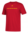 """Manchester United Adidas Soccer """"Primary One"""" Men's Short Sleeve T-Shirt"""