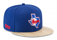 "Texas Rangers New Era 9FIFTY MLB Cooperstown ""1987 Topps"" Snapback Hat"