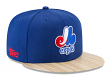 "Montreal Expos New Era 9FIFTY MLB Cooperstown ""1987 Topps"" Snapback Hat"