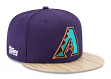 "Arizona Diamondbacks New Era 9FIFTY MLB Cooperstown ""1987 Topps"" Snapback Hat"