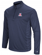 "Arizona Wildcats ""Audible"" 1/4 Zip Pullover Men's L/S Wind Shirt"