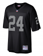 Charles Woodson Oakland Raiders NFL Mitchell & Ness Throwback Premier Jersey