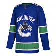 Vancouver Canucks Adidas NHL Men's Climalite Authentic Team Hockey Jersey