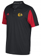 Chicago Blackhawks Adidas NHL Men's 2017 Authentic Game Day Polo Shirt