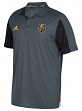 Las Vegas Golden Knights Adidas NHL Men's 2017 Authentic Game Day Polo Shirt