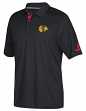 Chicago Blackhawks Adidas NHL Men's 2017 Authentic Locker Room Polo Shirt