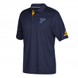 St. Louis Blues Adidas NHL Men's 2017 Authentic Locker Room Polo Shirt