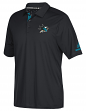 San Jose Sharks Adidas NHL Men's 2017 Authentic Locker Room Polo Shirt
