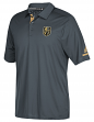 Las Vegas Golden Knights Adidas NHL Men's 2017 Authentic Locker Room Polo Shirt