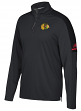 Chicago Blackhawks Adidas NHL Men's 2017 Authentic Pro 1/4 Zip Wind Shirt
