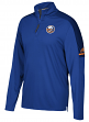 New York Islanders Adidas NHL Men's 2017 Authentic Pro 1/4 Zip Wind Shirt