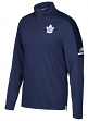 Toronto Maple Leafs Adidas NHL Men's 2017 Authentic Pro 1/4 Zip Wind Shirt