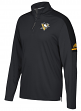 Pittsburgh Penguins Adidas NHL Men's 2017 Authentic Pro 1/4 Zip Wind Shirt
