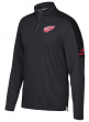 Detroit Red Wings Adidas NHL Men's 2017 Authentic Pro 1/4 Zip Wind Shirt
