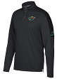 Minnesota Wild Adidas NHL Men's 2017 Authentic Pro 1/4 Zip Wind Shirt