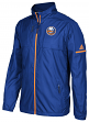 New York Islanders Adidas NHL Men's 2017 Authentic Full Zip Rink Jacket
