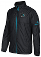San Jose Sharks Adidas NHL Men's 2017 Authentic Full Zip Rink Jacket