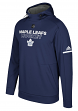 Toronto Maple Leafs Adidas NHL Men's 2017 Authentic Pro Hooded Sweatshirt
