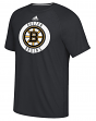 "Boston Bruins Adidas NHL ""Practice""  Climalite Performance S/S T-Shirt"