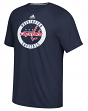 "Washington Capitals Adidas NHL ""Practice""  Climalite Performance S/S T-Shirt"