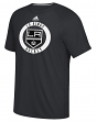 "Los Angeles Kings Adidas NHL ""Practice""  Climalite Performance S/S T-Shirt"