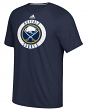 """Buffalo Sabres Adidas NHL """"Practice""""  Climalite Performance S/S T-Shirt"""