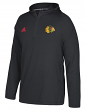 Chicago Blackhawks Adidas NHL Men's 2017 Authentic Training Hooded Sweatshirt