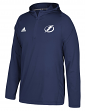 Tampa Bay Lightning Adidas NHL Men's 2017 Authentic Training Hooded Sweatshirt