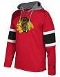 "Chicago Blackhawks Adidas NHL Men's ""Platinum"" Jersey Hooded Sweatshirt"