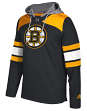 "Boston Bruins Adidas NHL Men's ""Platinum"" Jersey Hooded Sweatshirt"
