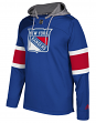 "New York Rangers Adidas NHL Men's ""Platinum"" Jersey Hooded Sweatshirt"