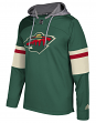 "Minnesota Wild Adidas NHL Men's ""Platinum"" Jersey Hooded Sweatshirt"