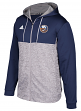 "New York Islanders Adidas NHL Men's ""Blocking"" Full Zip Hooded Sweatshirt"