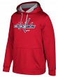 "Washington Capitals Adidas NHL Men's ""Checking"" Pullover Hooded Sweatshirt"