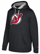 "New Jersey Devils Adidas NHL Men's ""Checking"" Pullover Hooded Sweatshirt"