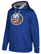 "New York Islanders Adidas NHL Men's ""Checking"" Pullover Hooded Sweatshirt"