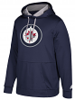 "Winnipeg Jets Adidas NHL Men's ""Checking"" Pullover Hooded Sweatshirt"