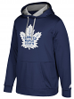"Toronto Maple Leafs Adidas NHL Men's ""Checking"" Pullover Hooded Sweatshirt"