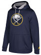 "Buffalo Sabres Adidas NHL Men's ""Checking"" Pullover Hooded Sweatshirt"