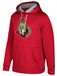 "Ottawa Senators Adidas NHL Men's ""Checking"" Pullover Hooded Sweatshirt"