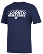 "Toronto Maple Leafs Adidas NHL ""Dassler"" Climalite Performance S/S T-Shirt"