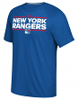 "New York Rangers Adidas NHL ""Dassler"" Climalite Performance S/S T-Shirt"