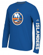 "New York Islanders Adidas NHL ""Journeyman"" Climalite Performance L/S Shirt"