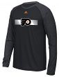 "Philadelphia Flyers Adidas NHL ""Resurface"" Men's Climalite L/S T-Shirt"