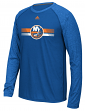 "New York Islanders Adidas NHL ""Resurface"" Men's Climalite L/S T-Shirt"