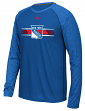 "New York Rangers Adidas NHL ""Resurface"" Men's Climalite L/S T-Shirt"