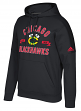 "Chicago Blackhawks Adidas NHL Men's ""Misconduct"" Pullover Hooded Sweatshirt"