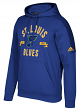 "St. Louis Blues Adidas NHL Men's ""Misconduct"" Pullover Hooded Sweatshirt"
