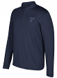 "St. Louis Blues Adidas NHL Men's ""Ice Skills"" 1/4 Zip Pullover Sweatshirt"